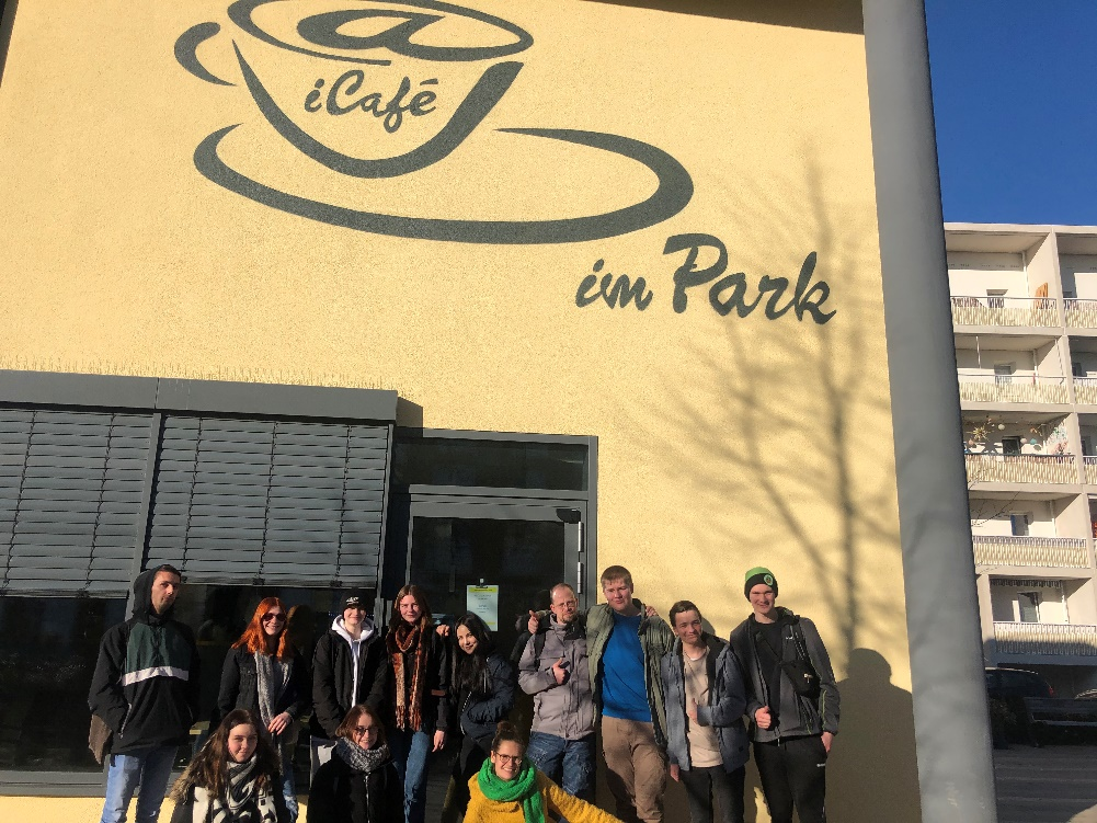 Our trip to the iCafé in Potsdam